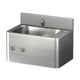 20 Inch Security Stainless Steel Lavatory with Rectangular Bowl