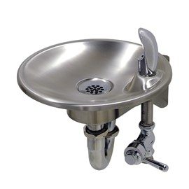 Economy Wall Mounted Round Stainless Steel Drinking Fountain